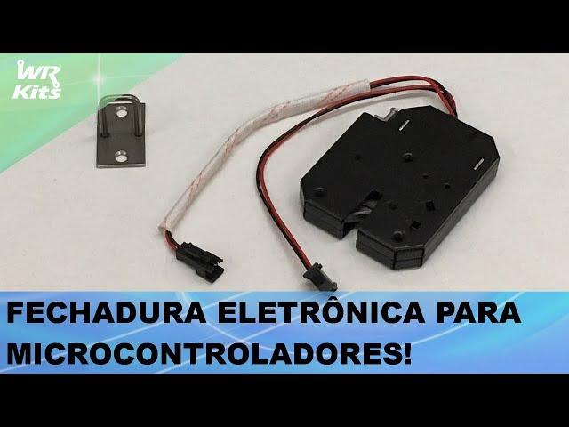 FECHADURA ELETRÔNICA PARA MICROCONTROLADORES