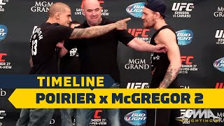 UFC 257 Timeline: Dustin Poirier vs. Conor McGregor 2 - MMA Fighting