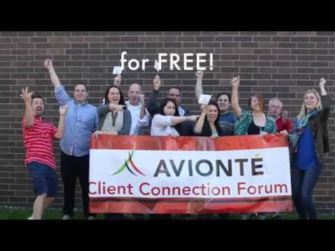 This Summer: Avionté Client Connection Forum 2016