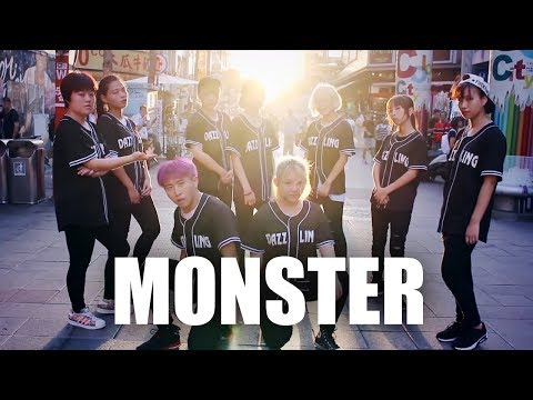 [KPOP IN PUBLIC CHALLENGE] EXO _ MONSTER Dance Cover by DAZZLING from Taiwan