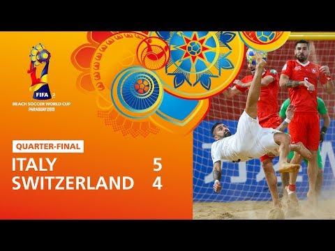 Italy v Switzerland | FIFA Beach Soccer World Cup 2019 | Match Highlights