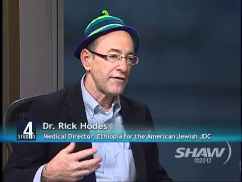 Dr. Rick Hodes on Studio 4 with Fanny Kiefer Part 1 of 2 - YouTube