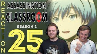 SOS Bros React - Assassination Classroom Season 2 Episode 25 - Future Time!