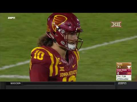 Texas at Iowa State Football Highlights