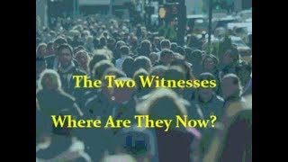 The Two Witnesses: Who Are They? Where Are They Now?