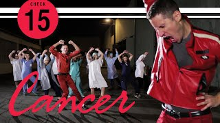 """""""CANCER"""" (a parody of Michael Jackson's """"THRILLER"""") - CHECK 15 - October 2014"""