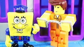 Roblox Inmate Goes To Glove World And Goes Back To Imaginext Spongebob Squarepants Jail