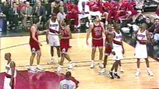 Michael Jordan 1997 vs Blazers - 20 points in fourth quarter