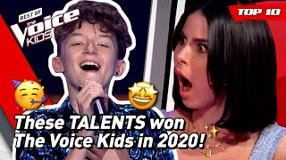 These are the 12 AWESOME WINNERS in The Voice Kids 2020! 🔥