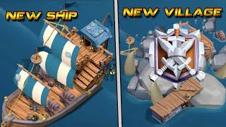 COC NEW UPDATE NEW SHIP FOR THIRD VILLAGE||NEW VILLAGE IN CLASH OF CLANS 2018 CONCEPT IDEA