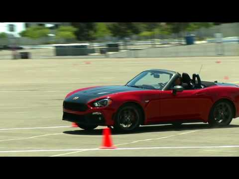 2017 Fiat 124 Spider Abarth Autocross