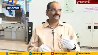 Shamshabad airport: Contactless technology in operation am..