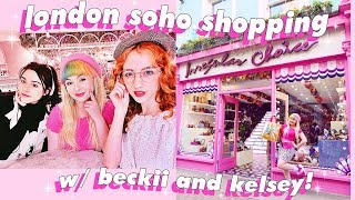 VISITING MY DREAM BRAND AND LOTS OF COOL PLACES IN CARNABY 🛍💕 Feat Kelsey Ellison and Beckii Cruel!
