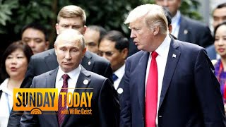 What Is President Trump's Objective In Meeting With Putin? NBC's Chuck Todd Weighs In | Sunday TODAY