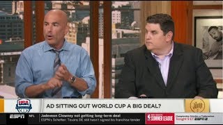 The Jump 7/15/2019 | Brian Windhorst EXPRESSED AD sitting out world cup a big deal?