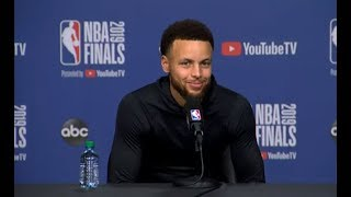 Golden State Warriors Media Availability | NBA Finals Game 1