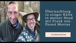 Übernachtung in eisiger Kälte in meiner Hood mit Frank Forest Movies✌
