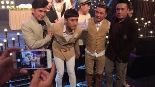 Đan Trường, Lam Trường, Trấn Thành, Hari Won đến mừng sinh nhật Mr Đàm