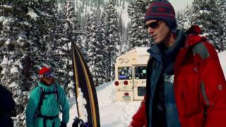 Freeriding with Shaun White in CO's backcountry
