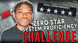 0 Star System Proficiency Challenge in NBA 2K20