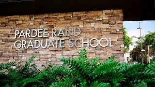 Welcome to the Pardee RAND Graduate School