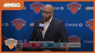 Fizdale: RJ Barrett Doesn't Look Like A Rookie   New York Knicks