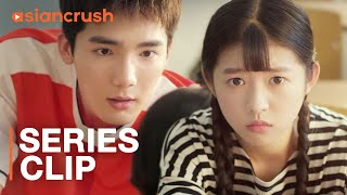 Hot jock will do anything just to learn this shy girl's name | Chinese Drama  | Youth (2018)