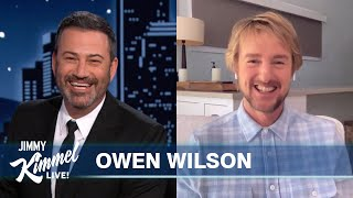 Owen Wilson on Learning About Loki, Tom Hiddleston's Impression of Him & Buddy Willie Nelson