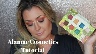 Alamar Cosmetics review and tutorial | Hot Mess Momma MD