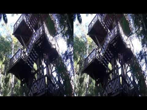 3D - Bosque Alemão Curitiba - Sony HDR-TD10