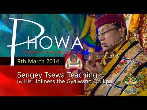 Sengey Tsewa Teaching (Mandarin & French) - 9th March by HH Gyalwang Drukpa