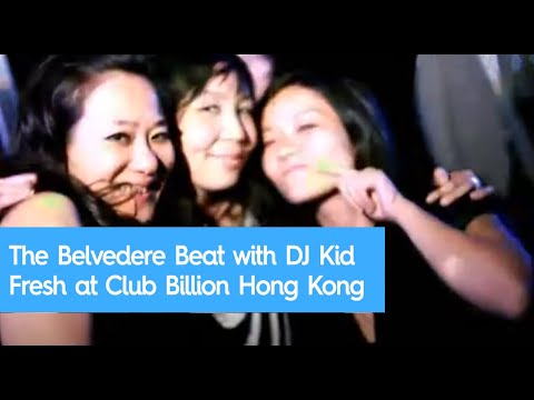 The Belvedere Beat with DJ Kid Fresh at Club Billion Hong Kong