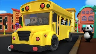 The Wheels On The Bus | Nursery Rhymes For Children | Kids Song By Baby Bao Panda