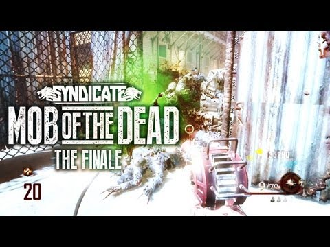 Black Ops 2 Zombies 'Mob Of The Dead' Finale! Gameplay Live W/Syndicate (Part 7) - Smashpipe Games