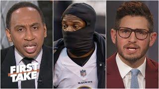 Stephen A. blames Lamar Jackson for Ravens' loss, Dan Orlovsky disagrees | First Take