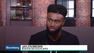 Boston Celtics' Jaylen Brown on Tech, Investing and Education
