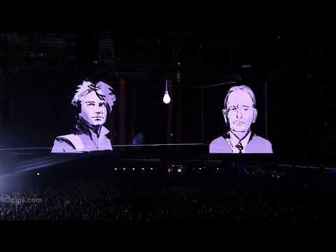 U2 Dirty Day (screen), Dublin 2018-11-10 - U2gigs.com