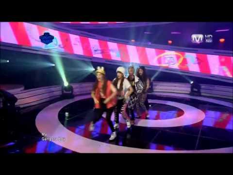Mnet MCD - f(x) Gangsta Boy+Pinocchio [110428] Comeback