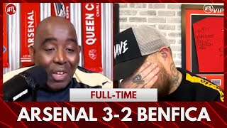 Arsenal 3-2 Benfica | I'm Emotional (DT)