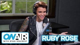 Ruby Rose Talks OITNB Nude Scene | On Air with Ryan Seacrest