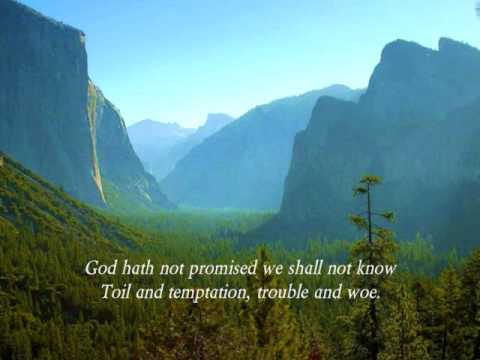 Years Promised by God What God Hath Promised God
