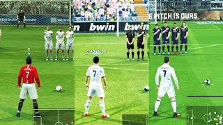 Free Kicks From PES 97 to 17