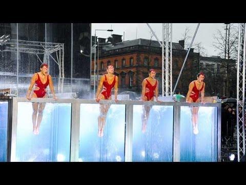 Synchronised swimmers Aquabatique - Britain's Got Talent 2012 audition - UK version