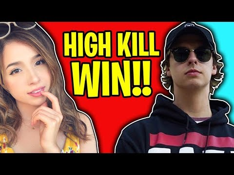 HIGH KILL DUOS WITH POKIMANE IN FORTNITE BATTLE ROYALE!!