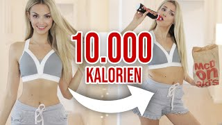Ich esse 10.000 KALORIEN an EINEM TAG | XLAETA