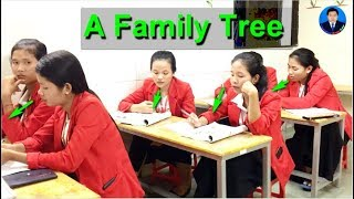 """Learn English with teacher Soun Ley_ """"A Family Tree""""Side by side, book1, page 5"""