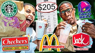 Letting The Person In Front Of Us DECIDE What We Eat For 24 HOURS!!!