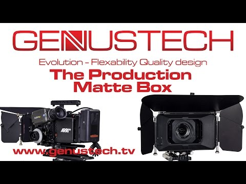 Genus Production Matte Box Kit: GPMB, GPTF, GAR82, GP-COAR-114, G-SUR/82KIT