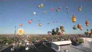 Time-Lapse Albuquerque Intl. Balloon Fiesta