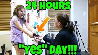 24 Hours Yes Day! If Kids Were In Charge?